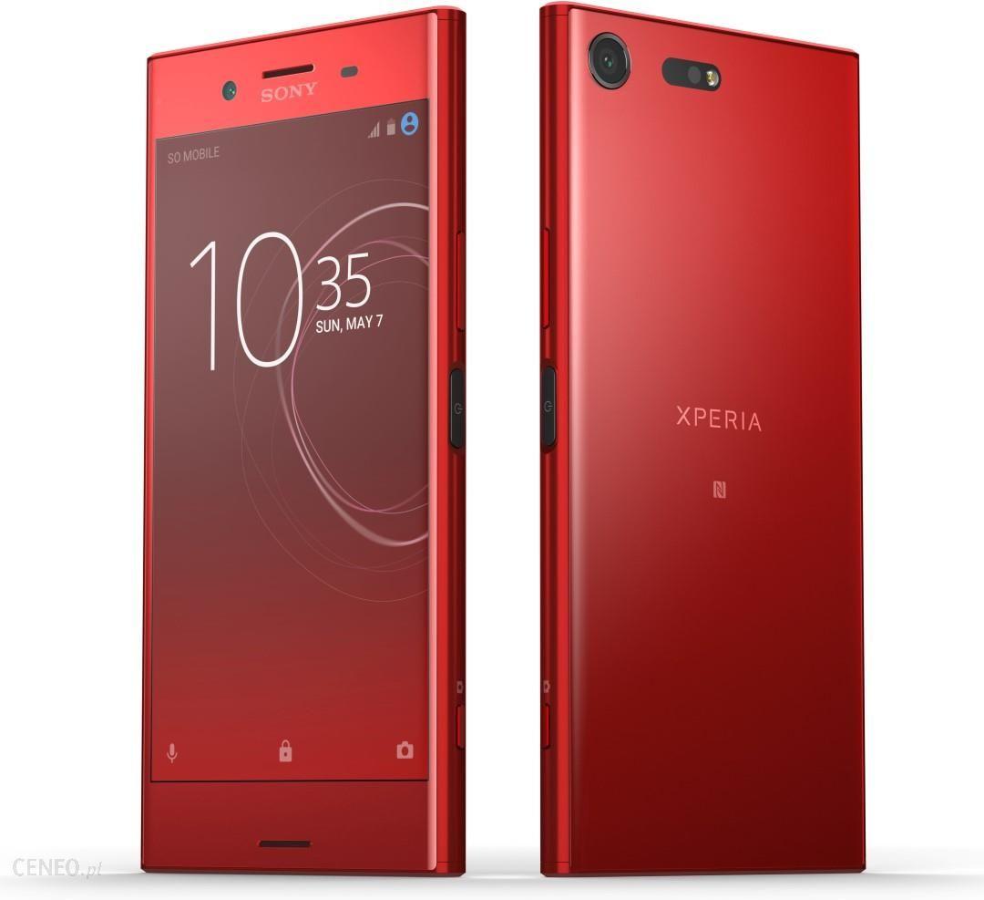 Sony Xperia Xz Premium Dual Sim Rosso Cena Opinie Na Ceneo Pl