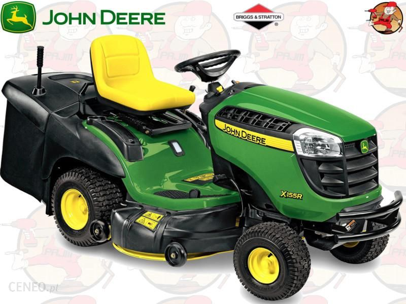 john deere x166r briggs stratton ceny i opinie. Black Bedroom Furniture Sets. Home Design Ideas