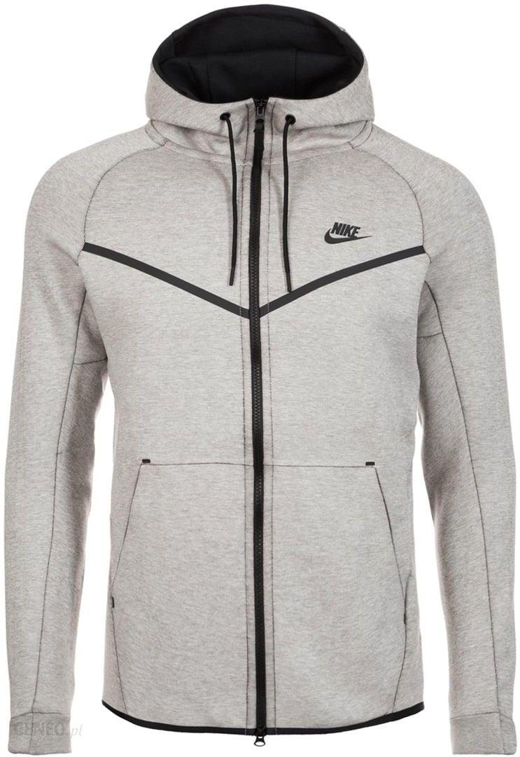 Nike Sportswear TECH FLEECE WINDRUNNER Bluza rozpinana mottled light grey Ceny i opinie Ceneo.pl