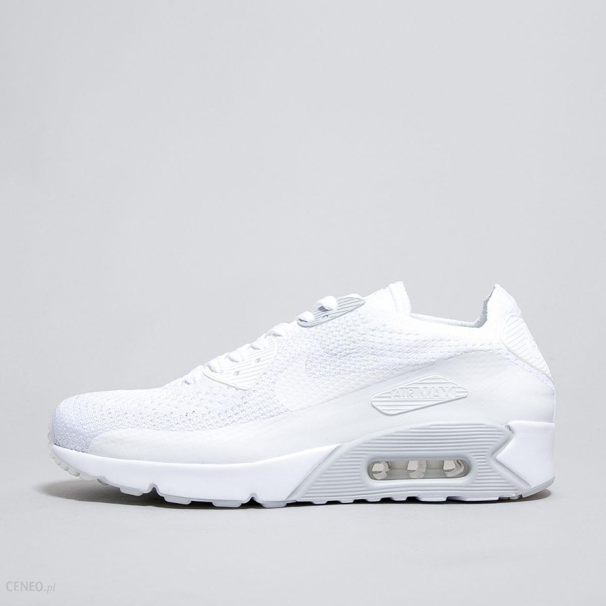 Buty męskie sneakersy Nike Air Max 90 Ultra 2.0 Flyknit 875943 101 BIAŁY Ceny i opinie Ceneo.pl