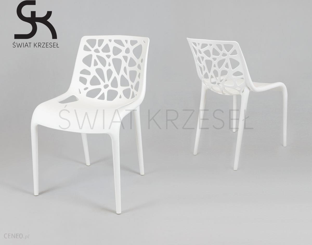 Sk Design Kr035 Białe Krzesło Polipropylenowe Opinie i atrakcyjne ceny na Ceneo.pl