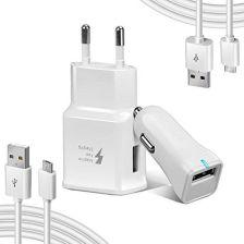 Amazon axmda portami Adaptive szybki Wbudowany port USB pozwala na szybkie ładowarka Quick Charge ładowarka ładowarka samochodowa do Samsung Galaxy S6