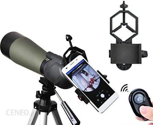 Amazon Solo Mark Uniwersalny Adapter Do Telefonu I Mount Tripod Uchwyt Na Telefon Komórkowy Iphone Sony Samsung Moto Aparat Firmy Lunetateleskopmi