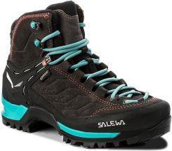 08a7115e Salewa Ws Mtn Trainer Mid Gtx Gore Tex 63459 0674 Magnet Viridian Zielony
