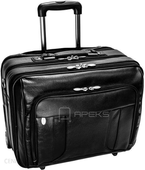 f1ebdb02b283a McKlein Lasalle pilotka / torba podróżna / walizka kabinowa na laptopa 17