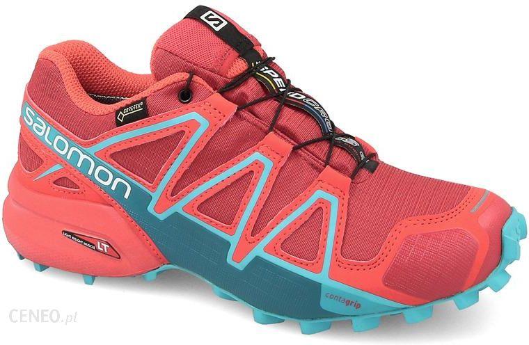 Trailowe buty Salomon Speedcross 5 high risk redbarbados cherry