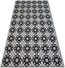 Dywany łuszczów Lisboa 120x170 Kwiaty Brąz B461