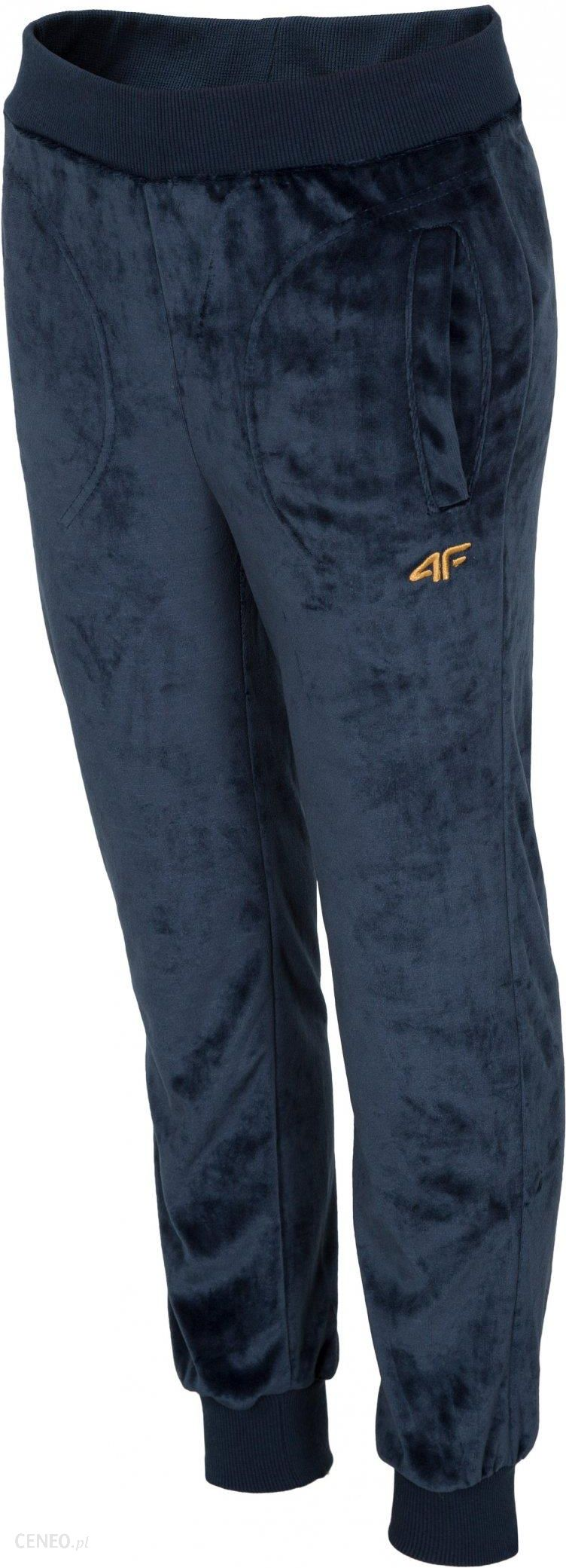 Spodnie dziewczęce 4F dresowe JSPDD105 110 Ceny i opinie Ceneo.pl
