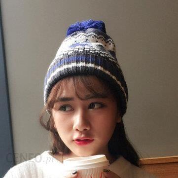 c0c073fca42 Women Christmas Gif Knitted Deer Beanie Hat - zdjęcie 1