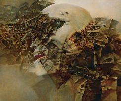 Reprodukcja Obrazu Zdzisława Beksińskiego 72x60 Opinie I