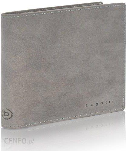 BUGATTI czarny portfel seria