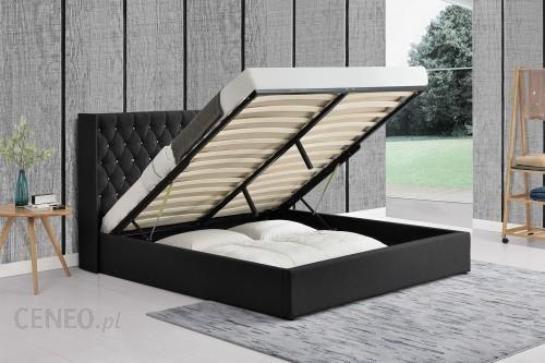 Meblemwm łóżko Tapicerowane Do Sypialni 160x200 1152g Czarne Materiałowe Opinie I Atrakcyjne Ceny Na Ceneopl