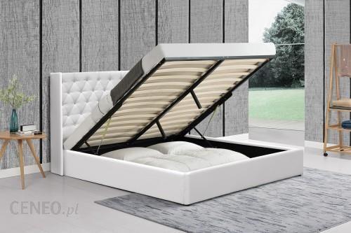 Meblemwm łóżko Tapicerowane Do Sypialni 160x200 1152g Białe Z Materacem Opinie I Atrakcyjne Ceny Na Ceneopl