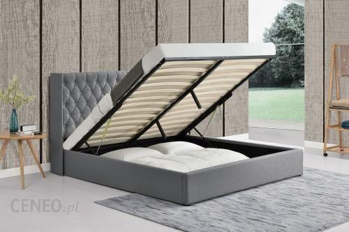 Meblemwm łóżko Tapicerowane Do Sypialni 160x200 1152g Szare Materiałowe Opinie I Atrakcyjne Ceny Na Ceneopl