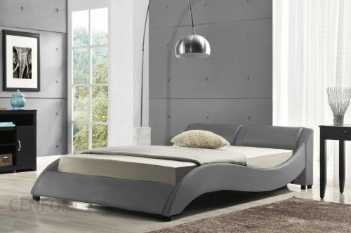 Meblemwm łóżko Tapicerowane Do Sypialni 160x200 868 Popiel Z Materacem