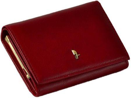 bc351e9292191 Genevian Luxury Objects 03-2306-04 portfel skórzany damski - brązowy ...