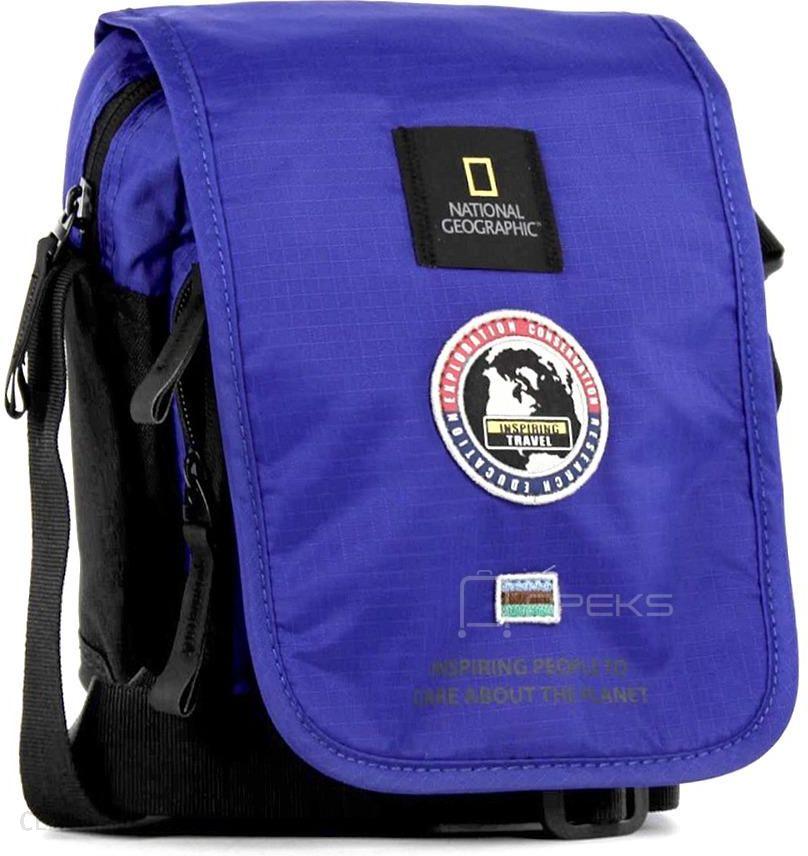 3c4392f00880f National Geographic EXPLORER torba mała / saszetka na ramię - niebieski -  zdjęcie 1