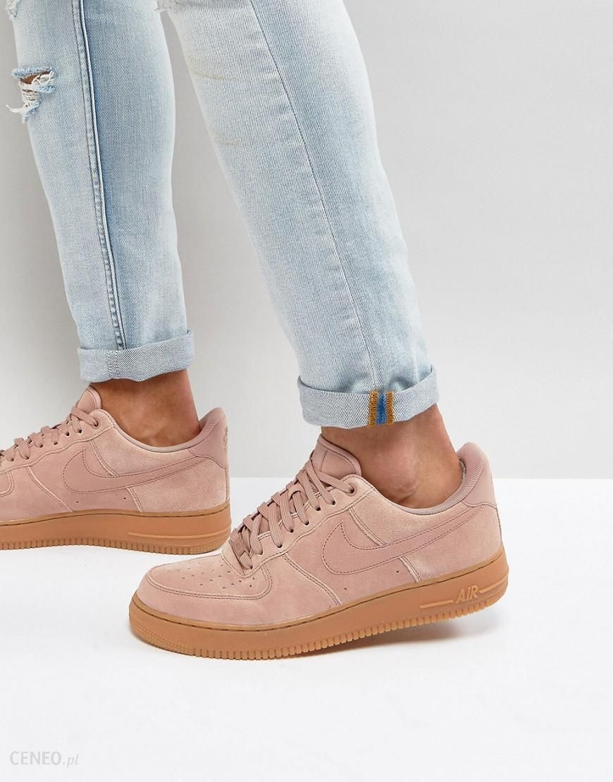 Nike Air Force 1 '07 LV8 Suede Trainers In Pink AA1117 600 Pink Ceneo.pl