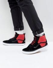 Vans X The North Face Sk8 Hi 46 MTE DX Trainers In Red VA3DQ5QWS Red Ceneo.pl