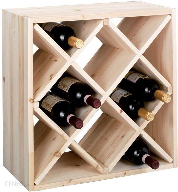 Nowość Zeller Drewniany Stojak Na Wino 12 Butelek (b002wtohho) - Opinie i WP43