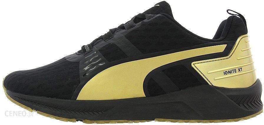 Puma Buty damskie Ignite XT v2 Gold czarno złote r. 39 (188987 02)