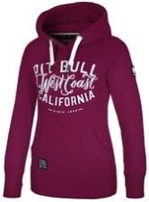 74d5c73c44a7 Damska bluza z kapturem Pit Bull West Coast - Różowa (127015.4190 ...