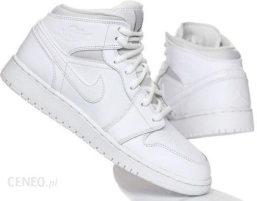 Buty Nike Air Jordan 1 Mid 554725 110 Białe r.37,5 Ceny i opinie Ceneo.pl