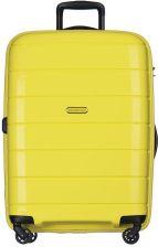 aa5beb5d5f718 Średnia walizka PUCCINI PP013 Madagaskar żółta - żółty