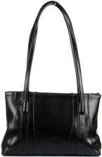 f4911b6cd17c4 DAN-A T98 czarna torebka skórzana klasyczna - Czarny