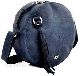 a223581380369 Skórzana torebka listonoszka granatowa DAAG FUNKY GO! 28 - Ceny i ...