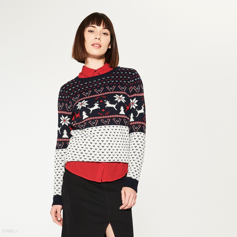 a0dcbc8cb2 House - świąteczny sweter - Wielobarwn - Ceny i opinie - Ceneo.pl