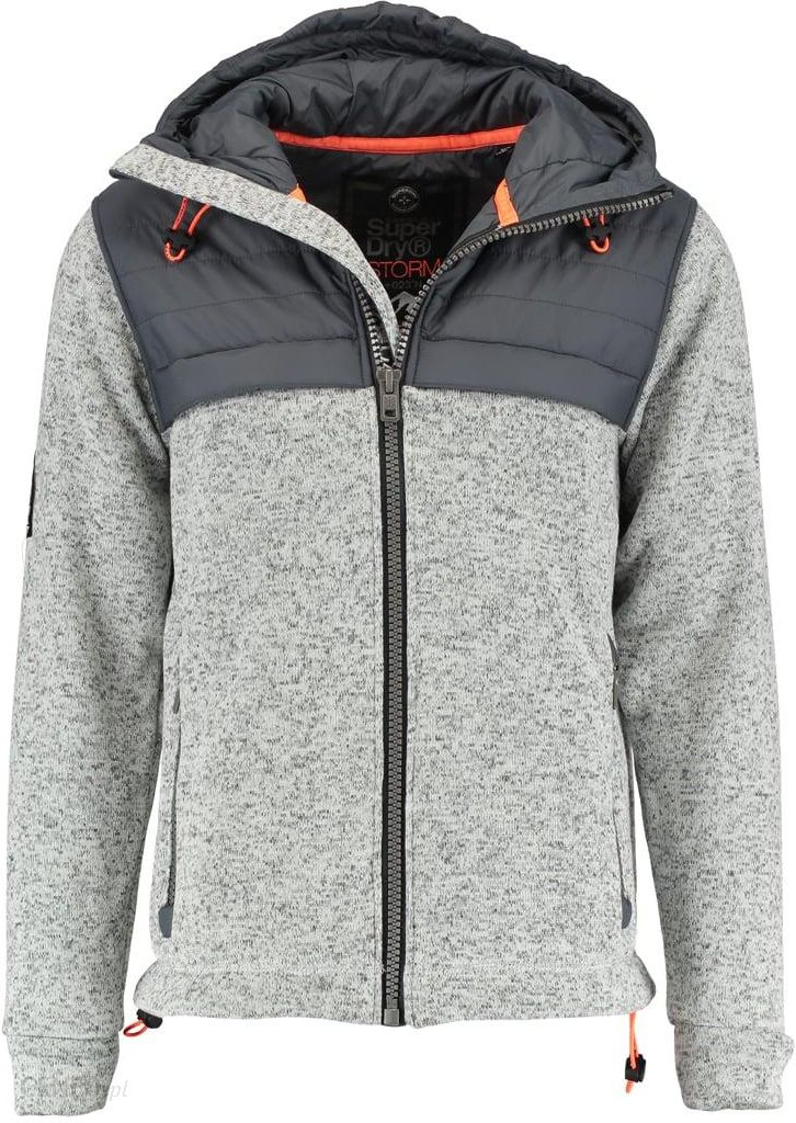 Bench Bluza rozpinana winter grey Zalando