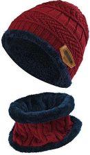3e071d9f63cd50 Amazon Czapka zimowa vbiger dzieci szalik Beanie dzieci do robienia na  drutach czapka beanie czapka zimowa dla dzieci z flauszową podszewką -  jeden r