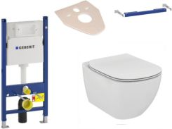 Ideal Standard Geberit Duofix Basic Up100 H112 + Tesi Aquablade 111153001+111813001+T007901+T352701