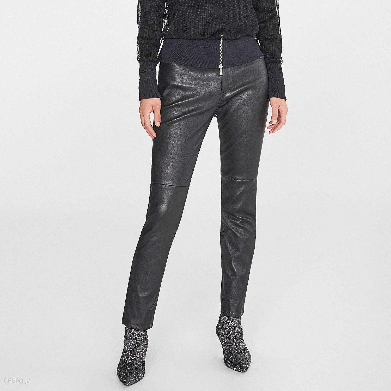 efc6d5dc Reserved - Skórzane spodnie redesign - Czarny - Ceny i opinie - Ceneo.pl