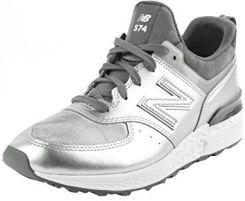 sports shoes c84ff 1863a Amazon New Balance, damskie buty typu sneaker - srebrny - 41 EU