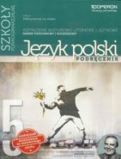 Podręcznik szkolny J.polski LO 5 Odkrywamy... podr ZPR w. 2017 OPERON - zdjęcie 1