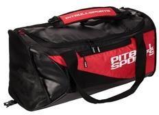 ad4112712c430 Plecak Pit Bull West Coast Usa Torba Sportowa Średnia Czarna Czerwona  816019.9045 - zdjęcie 1