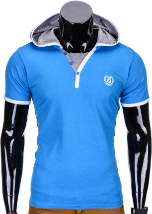 05b49a41fd Sklep ombre.pl - Tanie Niebieskie T-shirty i koszulki męskie ...