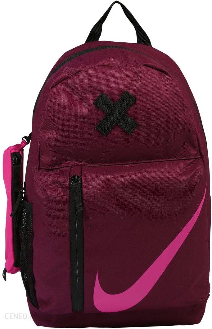9702c35f6d4a1 Nike Performance Elemental Plecak Bordeaux Black Active Pink - zdjęcie 1