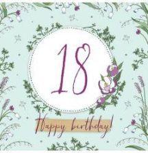 18 Urodziny Kartki Okolicznościowe I Zaproszenia Ceneopl
