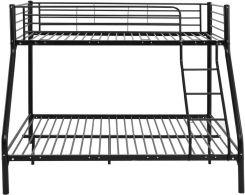 łóżko Piętrowe Metalowe Dla Dzieci Czarne Ceny I Opinie Ceneopl