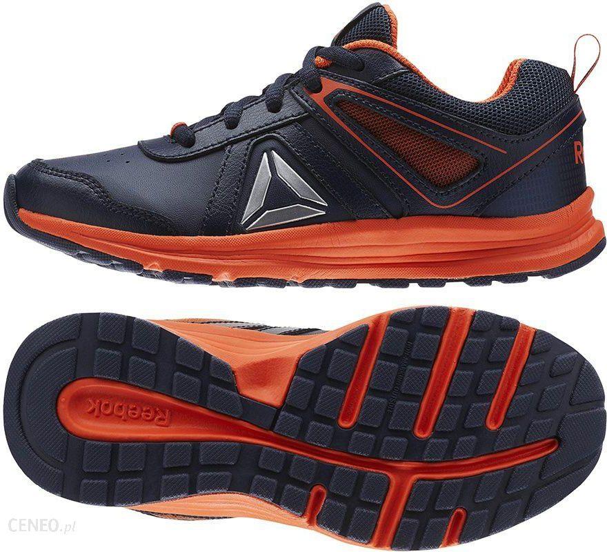 b75c4b9ba1d18 Buty Sportowe Dziecięce Almotio 3.0 Granatowo - Pomarańczowe r. 31 -  (BS7554) -