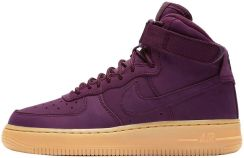 buty nike air force 1 high wb (gs) bordeaux