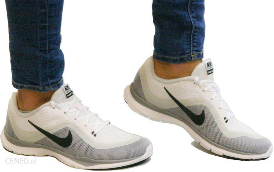 Buty Damskie Nike Flex Trainer 831217 100 Siłownia Ceny i opinie Ceneo.pl