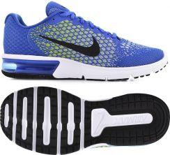 Nike Air Max Sequent 2 Niebieski 852461 401 Ceny i opinie Ceneo.pl