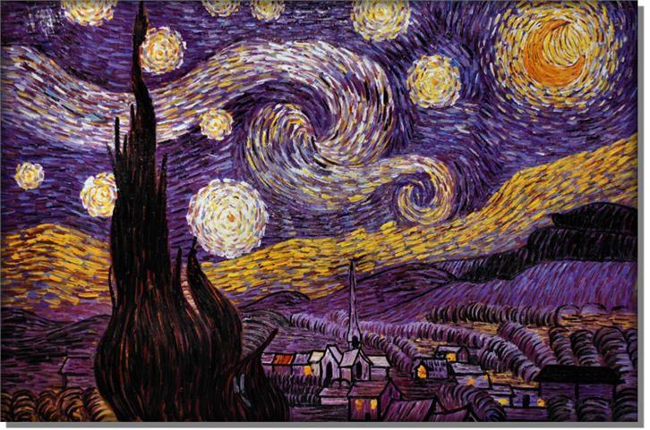 Starry Night Vincent Van Gogh Opinie I Atrakcyjne Ceny