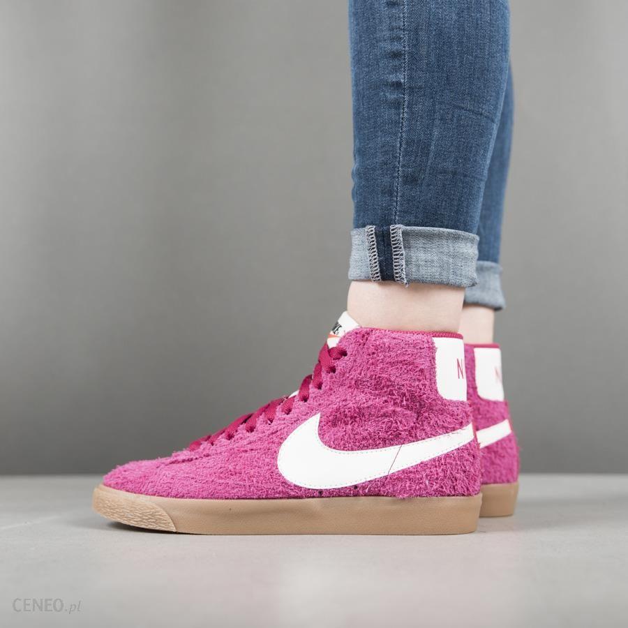 buy popular d6c61 8b67b Buty damskie sneakersy Nike Blazer Md Suede Vintage 518171 614 - RÓŻOWY -  zdjęcie 1