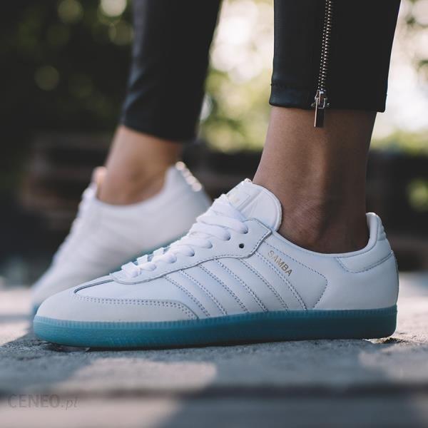 Buty damskie sneakersy adidas Originals Samba W BY2966 BIAŁY Ceny i opinie Ceneo.pl