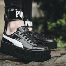 Buty damskie sneakersy Puma x Fenty Rihanna Ankle Strap Sneaker Black 366264 03 czarnyszary , , CZARNY Ceny i opinie Ceneo.pl